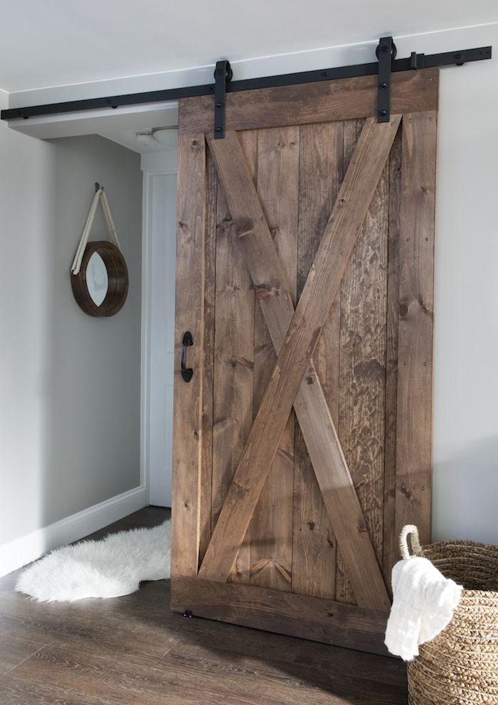 bathroom barn door barn door closet downstairs bathroom vinyl plank