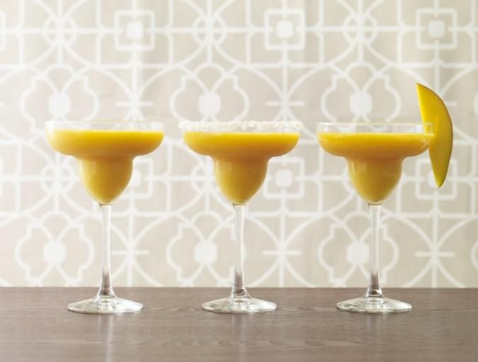 Frosty Mango-Lime Margaritas!