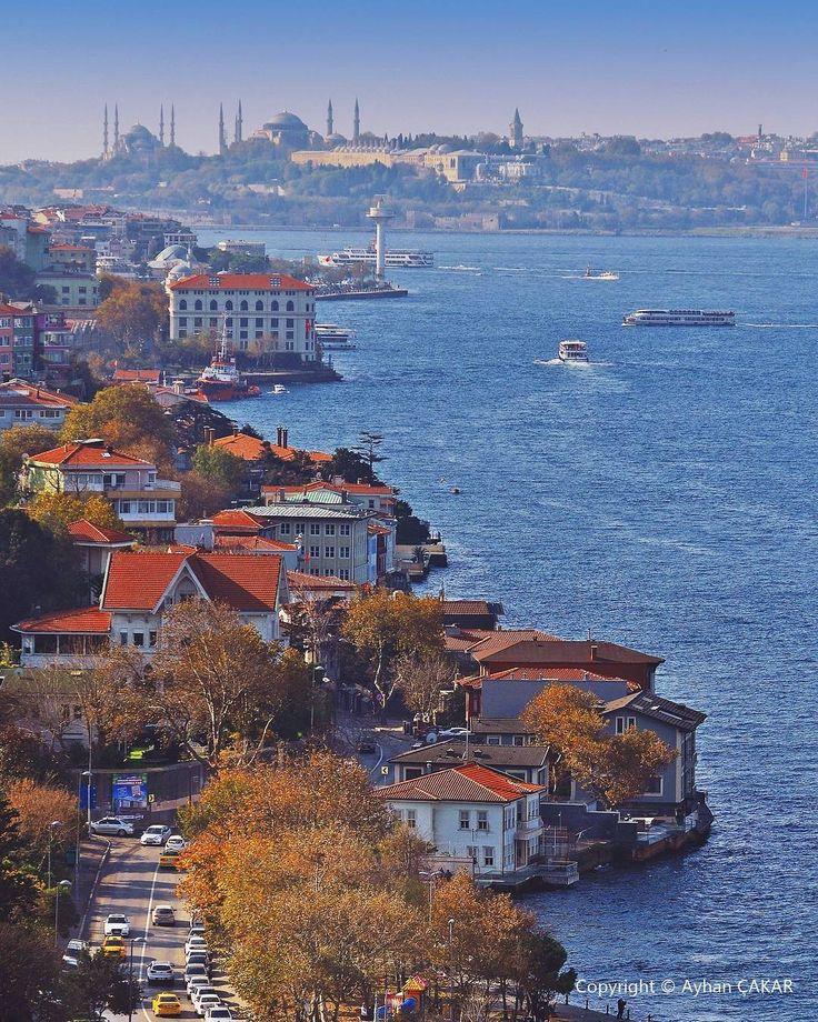 """3,839 Beğenme, 134 Yorum - Instagram'da Ayhan ÇAKAR  (@ayhancakar_nsu): """"Beyond the Blue Bosphorus, Wonder Hagia Sophia and Topkapı Palace Istanbul. Mavi Boğaziçi ötesinde…"""""""