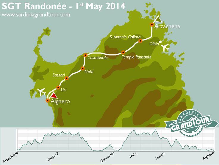 SGT Randonée 2014 - Route Map