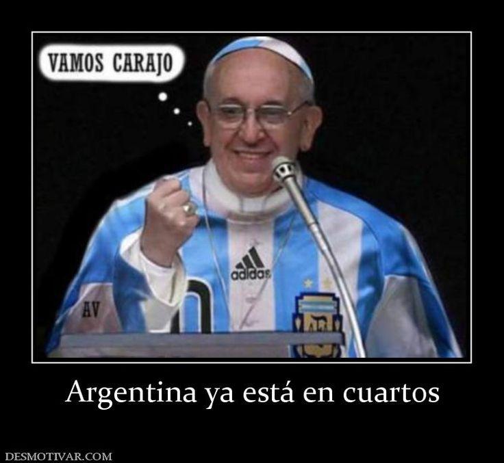 Argentina ya está en cuartos
