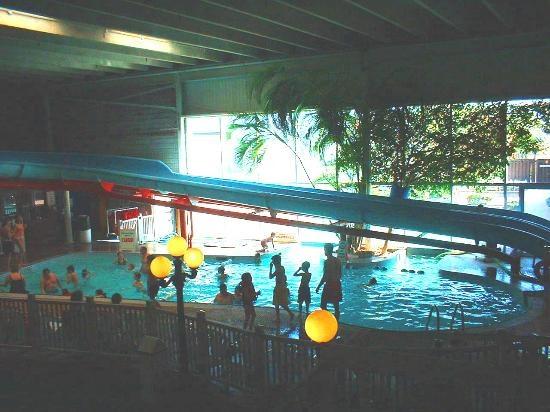 Indoor/Outdoor Pool (Wheels Inn Chatham Ontario) We used ...