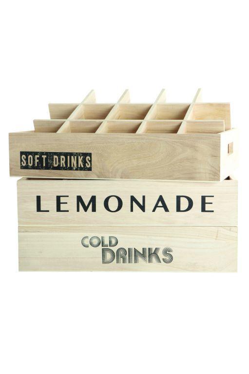 Dřevěný box Soda | Nordic Day