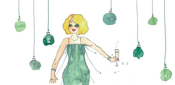 NATALE GREEN, un'illustrazione di Giorgia Bressan per Cosebelle Mag