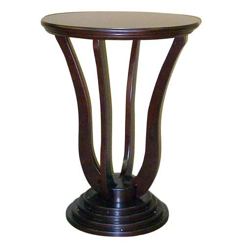 26.5-Inch Cherry Dita Accent Table