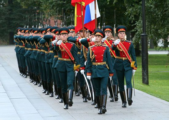 154 separate curfew Preobrazhensky Regiment: The Ministry of Defence