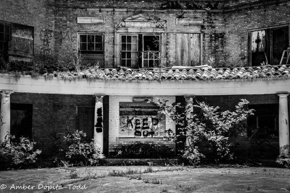 The Baker Hotel Fine Art Photo Mineral Wells by DopitaPhotography