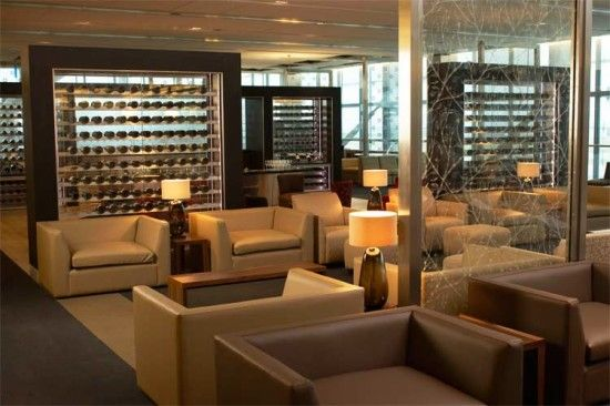 The BA First Lounge at London Heathrow T5