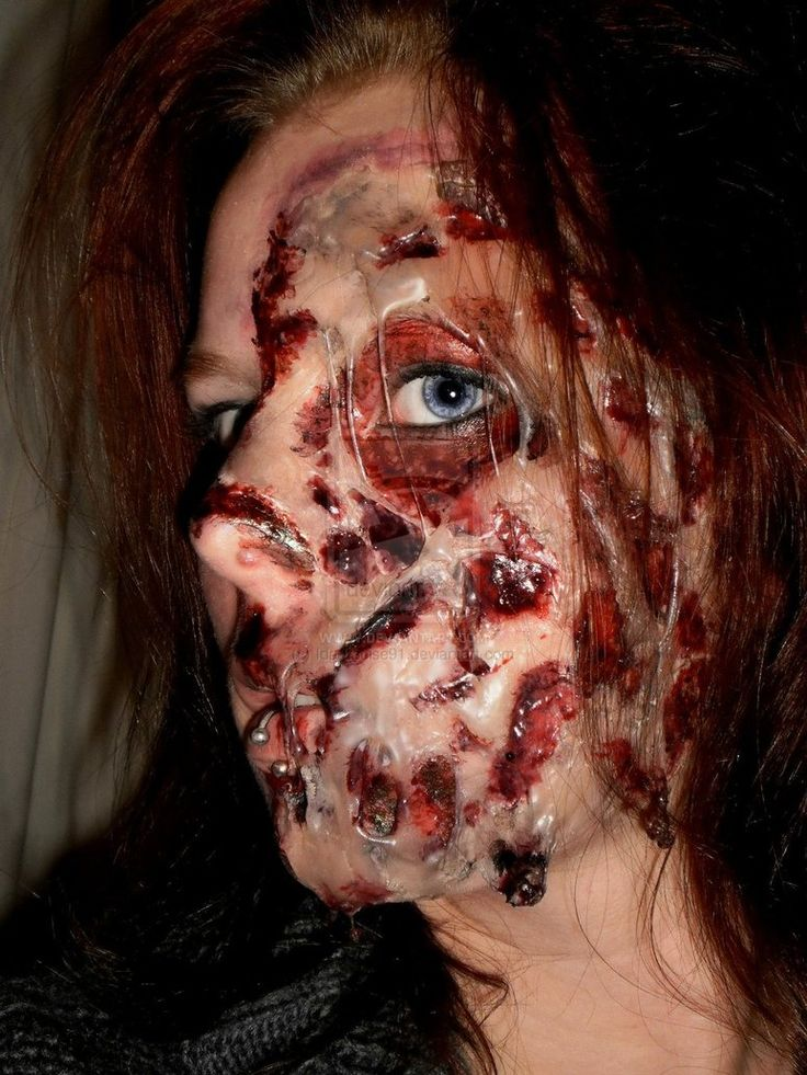Special Effects Makeup: 66 Best Sick Facepaint/special Effects Images On Pinterest