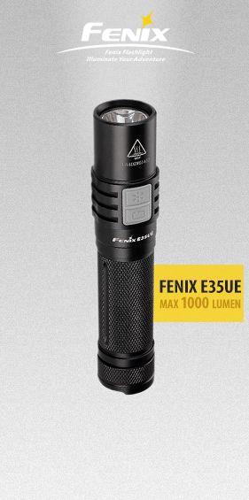 Fenix Elemlámpa E35 Ultimate Edition 1000lumen LED - Lámpák