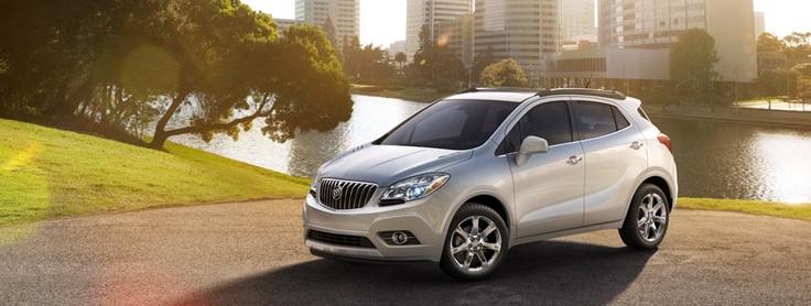 2013 Buick Encore.  Love the new small SUV.