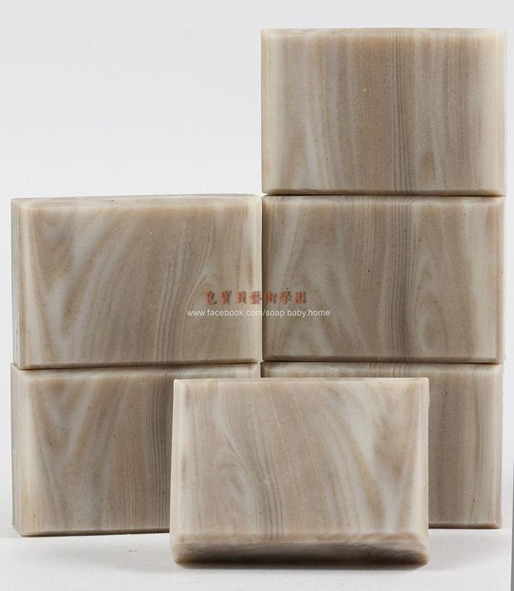 wood grain soap, by Baby Soap Art Academy