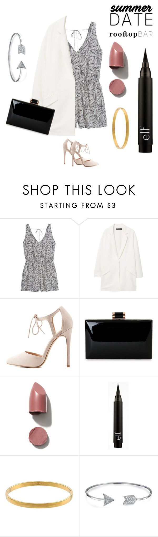 """""""Rooftop Bar Outfit"""" by blkgrd ❤ liked on Polyvore featuring H&M, MANGO…"""