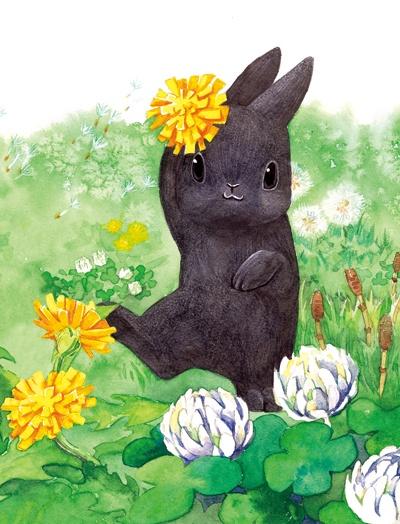 Dancing bunny (by shimizoon)