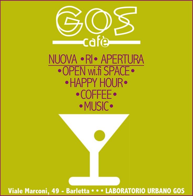 Nuova apertura GOS cafè!