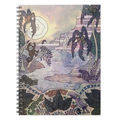 Endless Rainforest Notebook  $15.40  by MDTMarketPlaceOnline  - cyo diy customize personalize unique