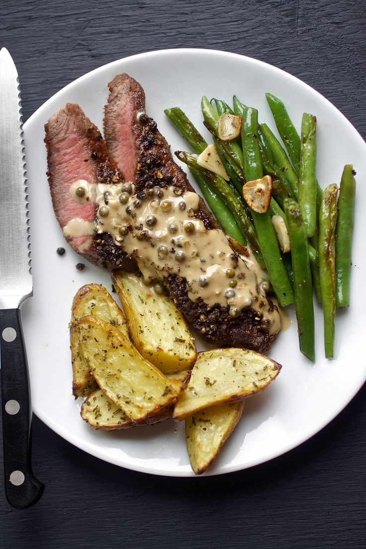 Steak Au Poivre by Men's Health