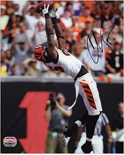 "Chad Johnson Cincinnati Bengals Autographed 8"" x 10"" Photo - Fanatics Authentic Certified - Autographed NFL Photos"