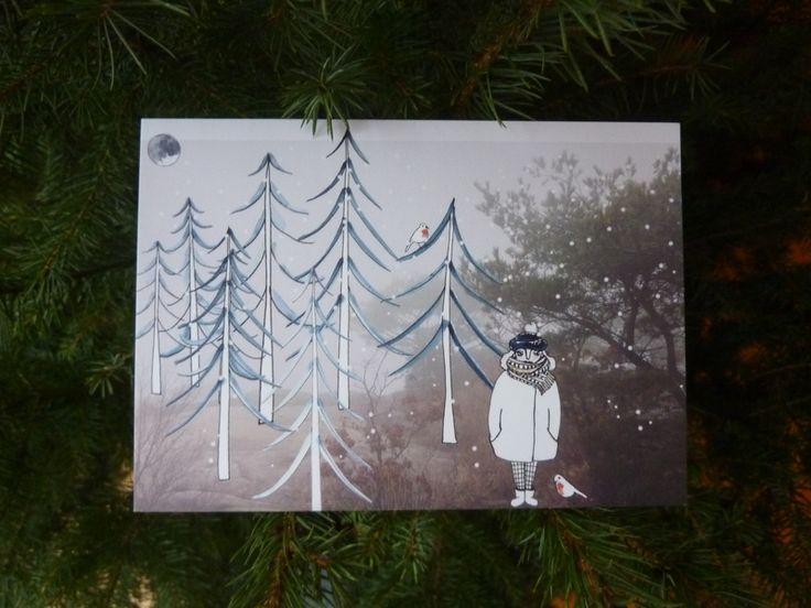 Winter – Winter – a unique product by JulietteHuygen on DaWanda
