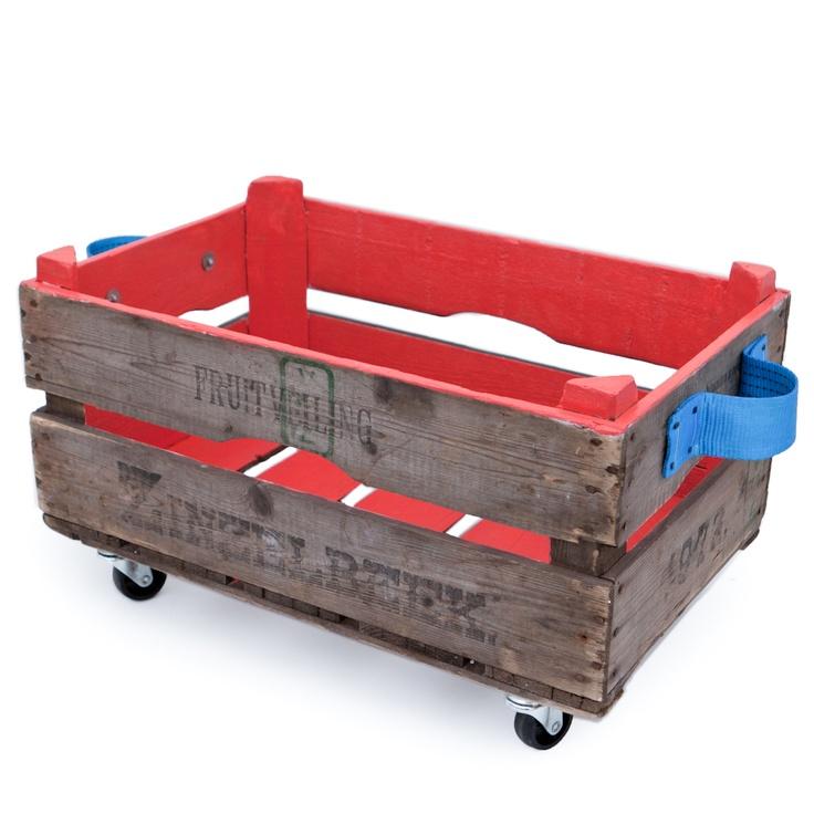 Opbergbox Anemoon Rood €38,95