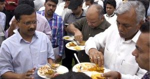 Did The Aam Aadmi Party Just Host a 5-Star Lunch Using Public Money?