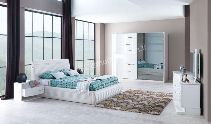 Efes Yatak Odası #evdekorasyon #kadın #moda #bed #bedroom #avangarde #modern #pinterest #yildizmobilya #furniture #room #home #ev #young #decoration #moda       http://www.yildizmobilya.com.tr/