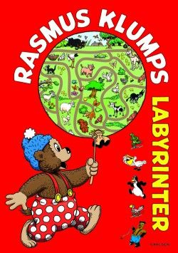 Rasmus Klump Labyrinter (Indbundet) [1. udgave] [Indbundet] (2013) - imusic.dk