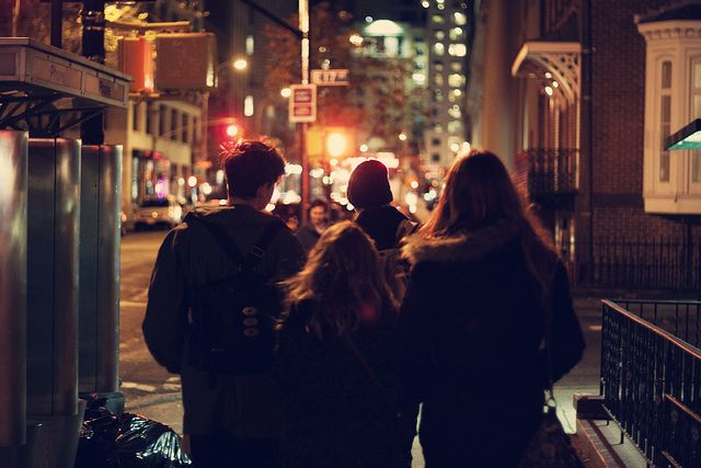 when Emi, Chase, and (a disgruntled) Vice take the Narls out for an evening stroll through the city.