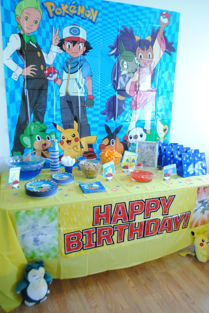 45 best Pokemon bday images on Pinterest | Birthdays ...