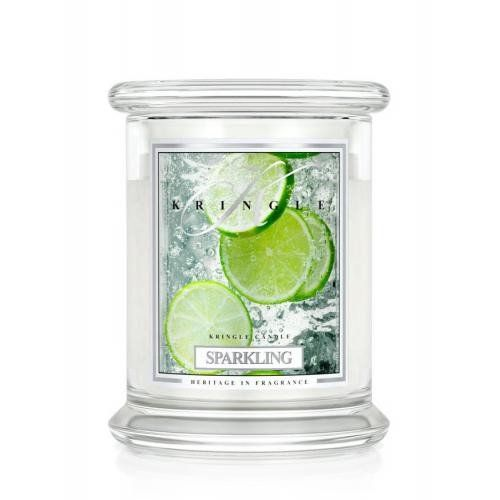Kringle Candle - Sparkling combines Sparkling Strawberry & Lime Zest into a refreshing scent for your home