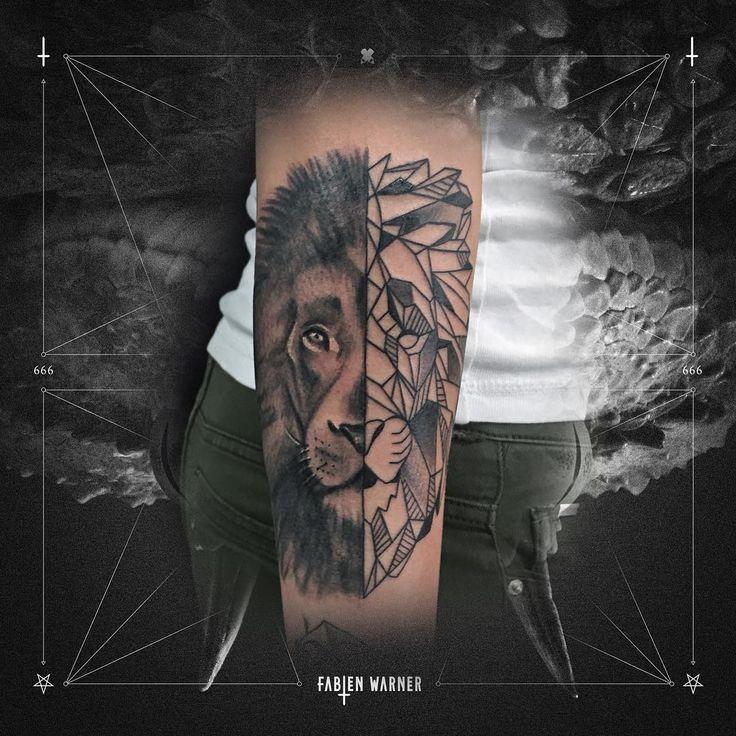 Geometric Tattoo by Fabien Warner