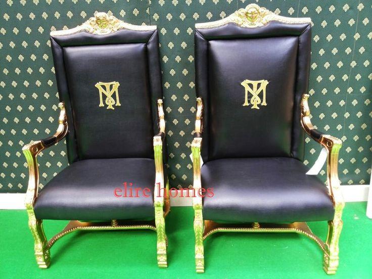 Tony Montana Al Pacino Scarface Armchair Throne Chair