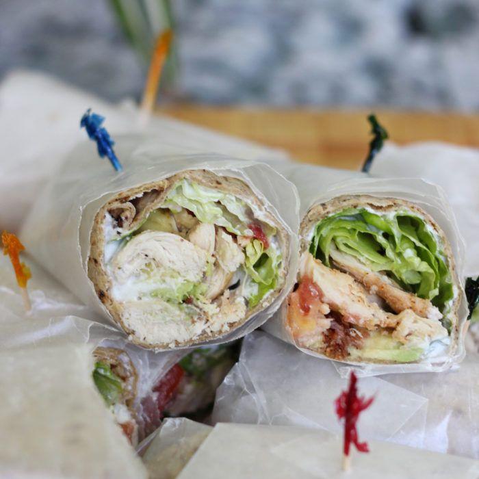 Cobb Salad Wraps   http://memeinge.com/blog/cobb-salad-wraps/