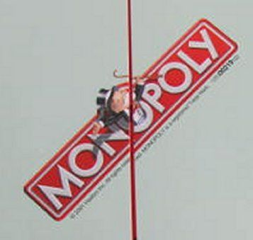 Use Monopoly (owned by Hasbro Inc) to teach an adult learner numeracy skills.