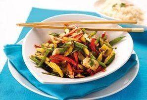 Jouw Gezonde Recepten | Voorjaarsgroentjes met rijst en kalkoen
