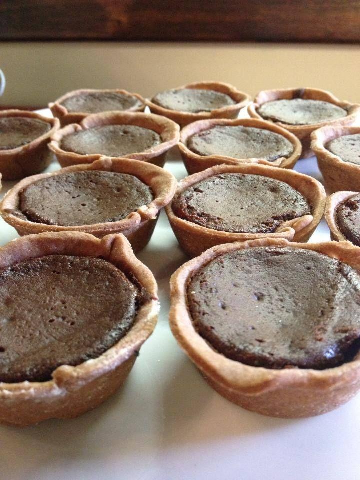 Mini Chocolate Espresso Tarts. | Foodie stuff | Pinterest