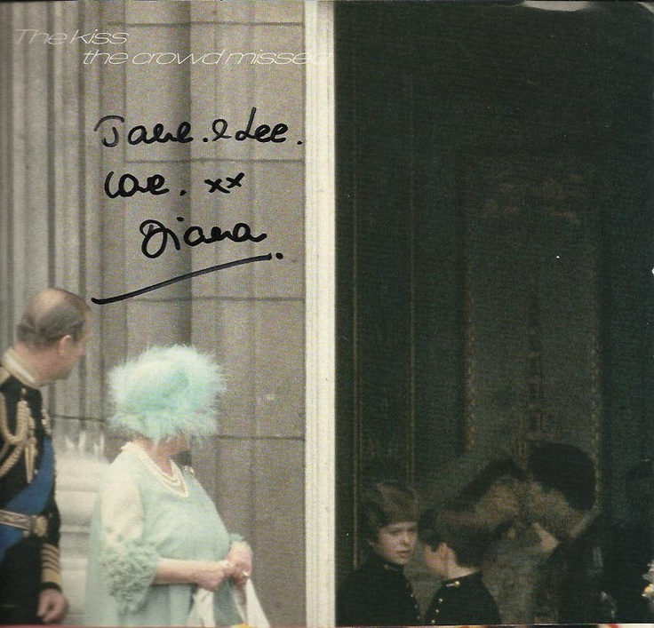 Princess Diana AKA Lady Di Signed Vogue Page. Queen Elizabeth, Prince Charles | eBay