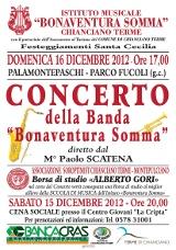 Concerto Santa Cecilia 16 Dicembre