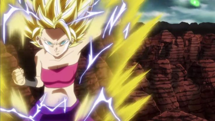 Caulifla Super Saiyan 2 Dragon Ball Super