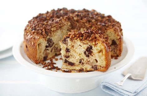 Kosher apple chocolate streusel cake recipe