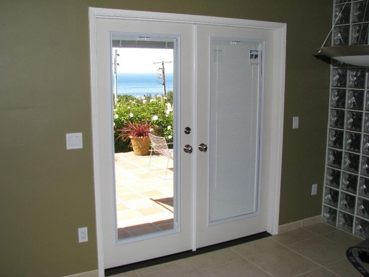French Door Blackout Shades