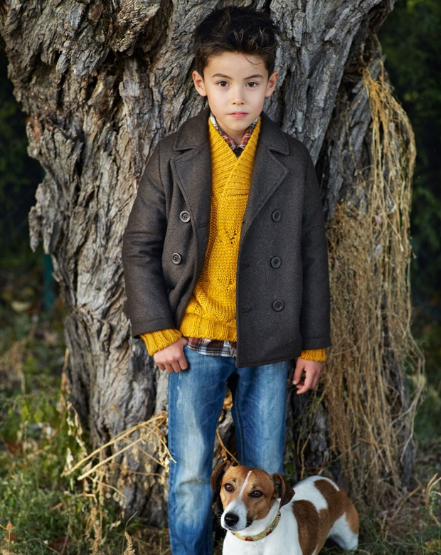 Wish the sweater came in dark pink or purple too ... Fall 2012 Kid and Tween Collection - Look 27