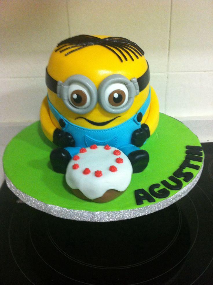 Torta Minions!! 9 años Agustín!!