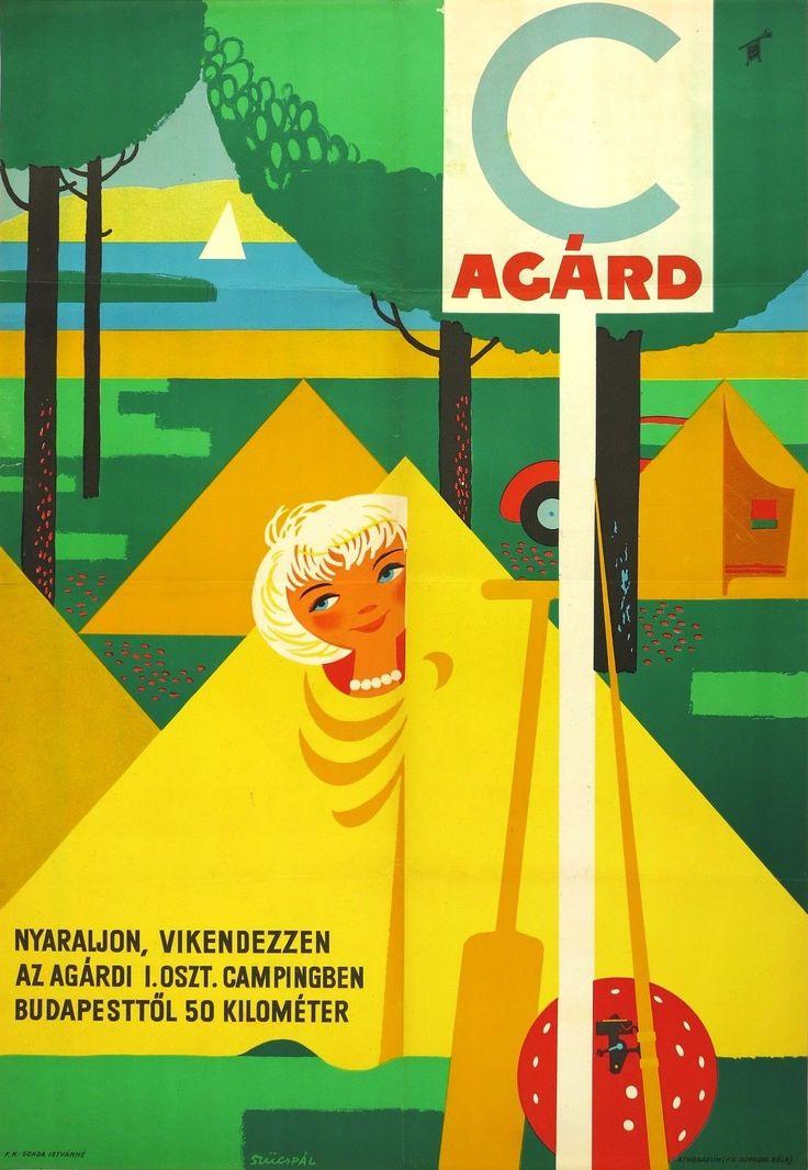 1961 Agárd Camping, Hungary