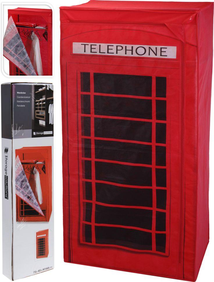 Textilní skříň TELEPHONE - Sconto Nábytek