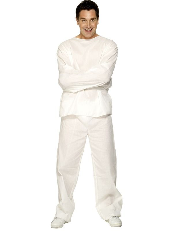 Lunatic Inmate Costume £32.99 : Direct 2 U Fancy Dress Superstore. Fancy Dress, Party Themes & Accessories For The Whole Family. http://direct2ufancydress.com/lunatic-inmate-costume-p-2226.html