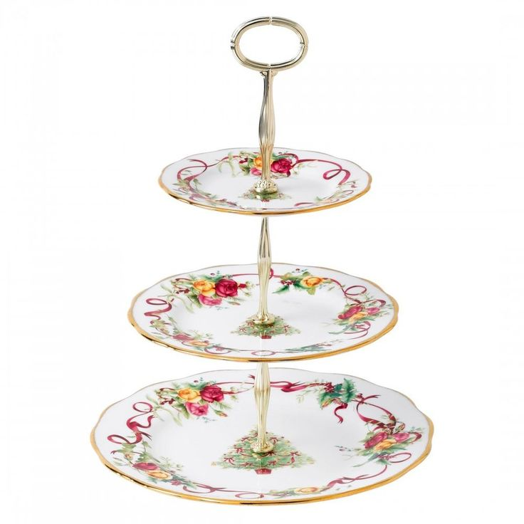 Royal Albert Tiered Cake Stand Macy