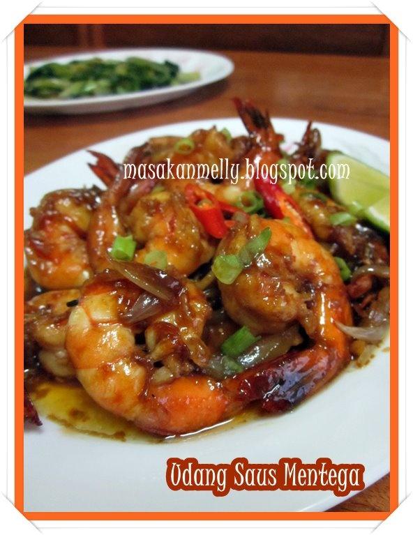 Masakan Melly: Udang Goreng Saus Mentega