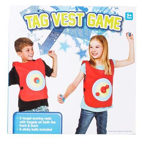 Tag Game Vest $10 (KMART)