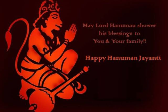 Happy Hanuman Jayanti 2017: Images Quotes Messages Greetings Facebook WhatsApp Status   On this auspicious day followers of Lord Hanuman worship him seeking protection and blessings. They flock the temples to worship the deity. People also recite the Hanuman Chalisa which has 40 verses in total and has been authored by Tulsidas.  Hanuman Jayanti is a festival that is celebrated across the country as the when Lord Hanuman was born. The Hindu festival is celebrated on the full moon day which…